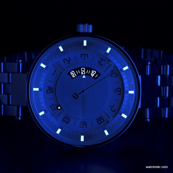 mechanical watch luminova