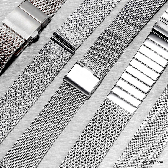 mesh milanese watch straps