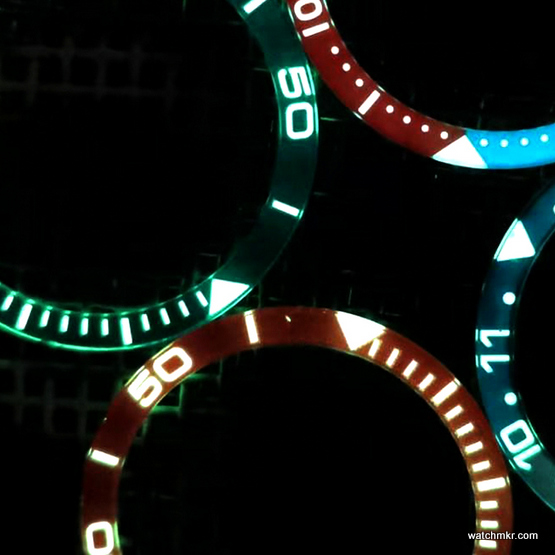 quartz watch luminova