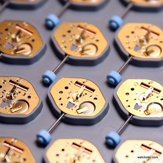 mechanical watch assembly manufacturing
