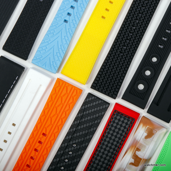 silicone watch straps