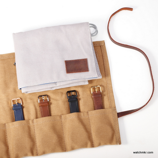travel leather pouch for watches